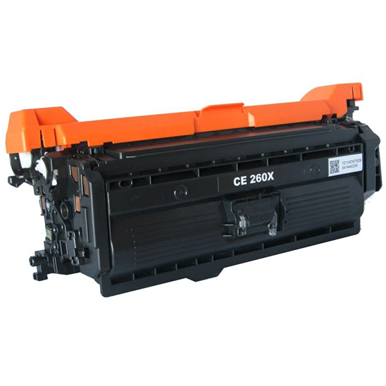 Cartus toner compatibil CE260X 17000 black - Retech
