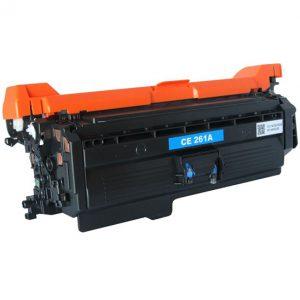 Cartus toner compatibil CE261A 11000 cyan - Retech