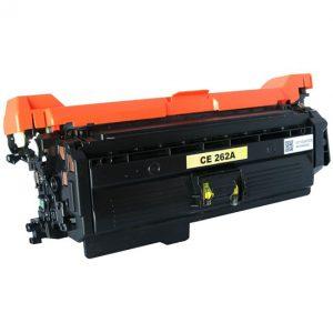 Cartus toner compatibil CE262A 11000 yellow - Retech