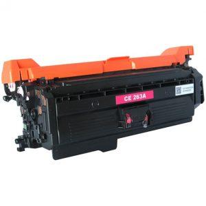 Cartus toner compatibil CE263A 11000 magenta - Retech