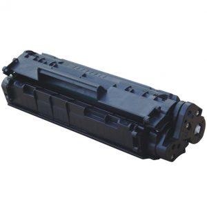 Cartus toner compatibil Q2612A/FX10/CRG-703 2000 pagini black - Retech