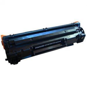 Cartus toner compatibil CRG737/CF283X 2500 pagini black - Retech
