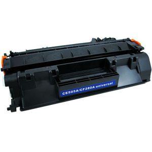 Cartus toner compatibil CE505A, CF280A 2700 pagini black - Retech