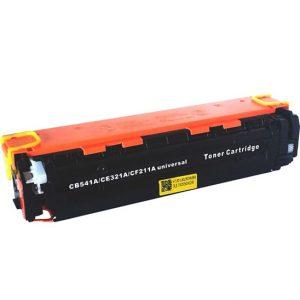 Cartus toner compatibil CB541A (HP125A), CE321A (HP128A), CF211A (HP131A) 2200 pagini cyan - Retech