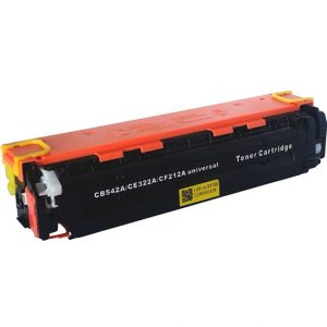 Cartus toner compatibil CB542A (HP125A), CE322A (HP128A), CF212A (HP131A) 2200 pagini yellow - Retech