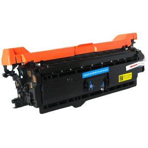 Cartus toner compatibil CE251A (HP504A), CE401A (HP507A), CRG-723C 7000 pagini cyan - Retech