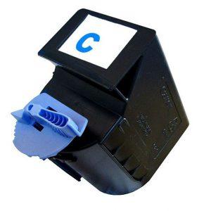 Cartus toner compatibil C-EXV21C 250 grame / 14000 pagini cyan