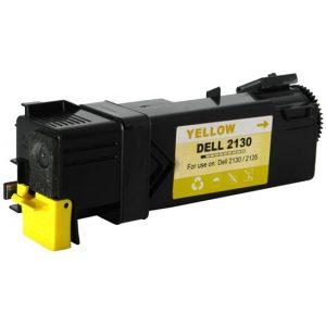 Cartus toner compatibil F066, 593-10314 2500 pagini yellow - Retech